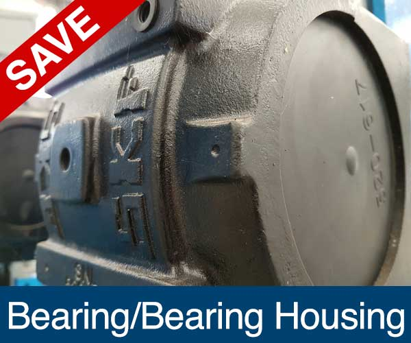 Bearing Housing, Recycling Spare Parts