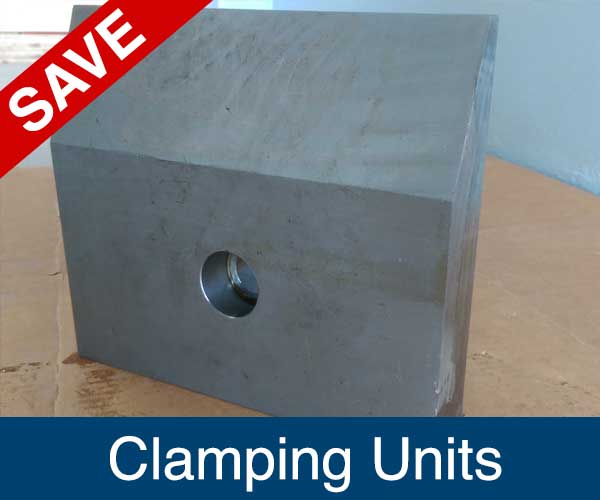Clamoing Unit. Recycling Spare Parts