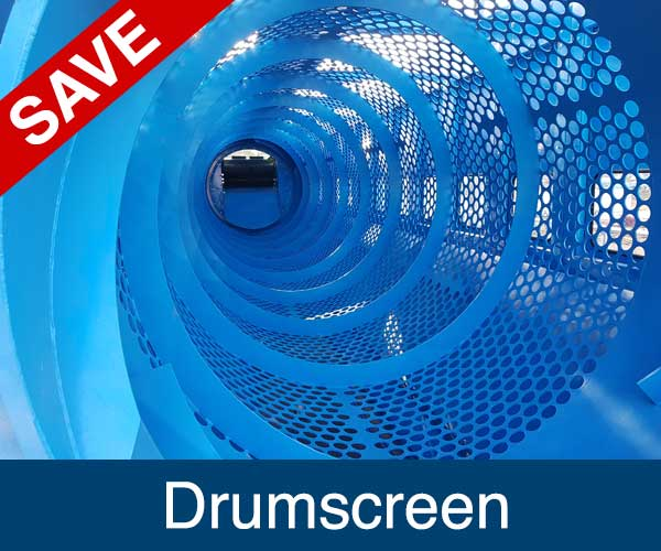 Drumscreen, Recycling Spare Parts