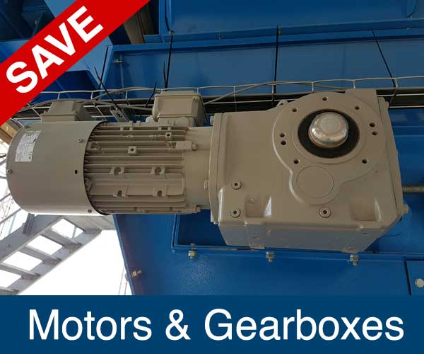 Motor and Gearbox, Recycling Spare Parts